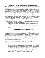 SOFTWARE CONSIDERATION.docx