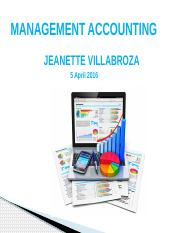 Management Account Chap.4 - Cost Behavior Analysis.pptx