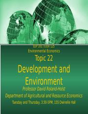 EEP101-Econ125_Topic_22_Development_and_Environment.pptx