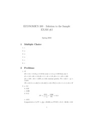 solution of sample exam2