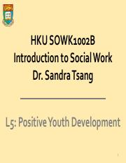L5 Positive Youth Development