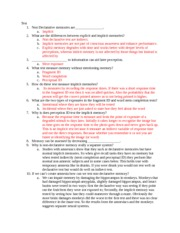 Psych 4033 Section 3 Self-test answer key