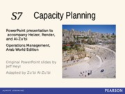 Ch07S_heizer_Capacity Planning