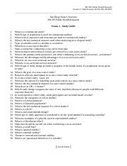 PH 295 Exam 2 - Study Guide (3)