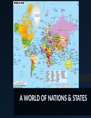 Ch. 10 Nations and States PPT
