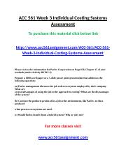ACC 561 Week 3 Individual Costing Systems Assessmen1.doc