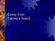 Essay_Four_Taking_a_Stand