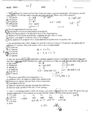 Exam Weatherford business342 spring00