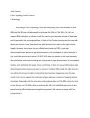 Dicks sporting goods lawsuit.docx