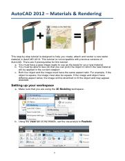 AutoCAD 2012 Raster Materials and Rendering.pdf