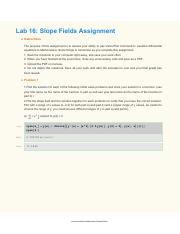Lab 16 Slope Fields Assignment.pdf
