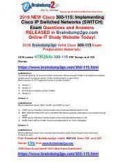 300-115 Switch Pdf