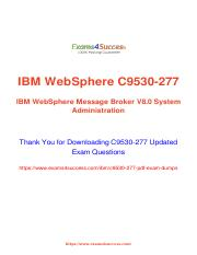 Practice Tests and IBM C9530-277 Real Exam Questions.pdf