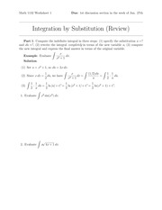 MATH 1132Q Worksheet 1