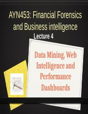 AYN453 Lecture 4_Data_Mining_Dashboards_2016_Updated.pptx
