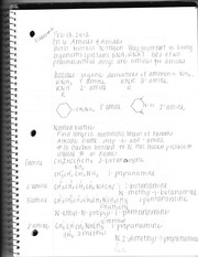 Chemistry Test Six Review Notes