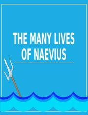 The Many Lives of Naevius
