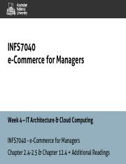 INFS7040 - 4 IT Infrastructure  Cloud Computing - 1pp