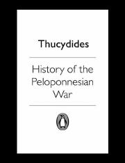 Thucydides_ M. I. Finley (ed.)-History of the Peloponnesian War-Penguin (1974)