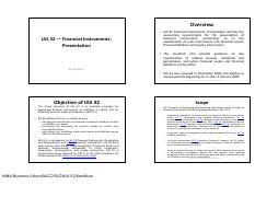 L7. IAS 32 — Financial Instruments