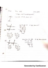 3.2 Angles & Parallelograms Notes