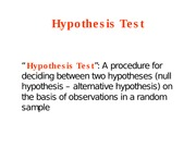 StatisticsLecture4A_HypothesisTest