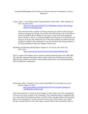 gun control annotated bibliography essay Annotated bibliography- gun control  topics: firearm,  nancy cassano essay 2 2/13/2013 gun control in america the united states government should have the authority to restrict and regulate american citizens from buying or owning firearms.