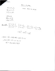 Equations for Planes