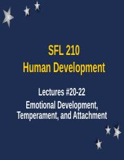 SFL 210 Lecture 20-22 (Chapter 10)