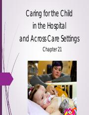 Ward+Chapter+21+Caring+fo+the+Child+in+the+Hospital