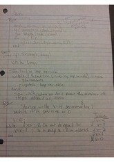 Scientific programming notes while and for loops