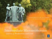 Intermediate Micro Lesson 05 - Production and Cost - Slides - Short