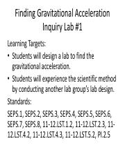 Finding Graviational Acceleration - Inquiry Lab #1.pdf