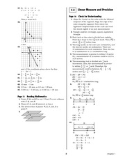 Pre-Calculus Homework Solutions 1