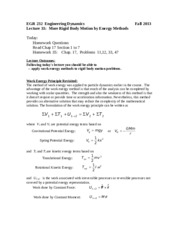 EGR232Lecture35_More_Rigid Body Motion_ Energy Method