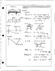 501_Mechanics Homework Mechanics of Materials Solution