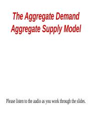 5P The Aggregate Demand and Aggregate Supply Model.pptx