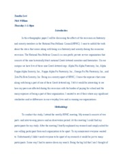 Anthro 2-Ethnography Paper Rough Draft