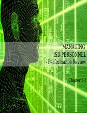IMS656 Chapter 3-2 - ISD PERSONNEL- PERFORMANCE              REVIEW (1)