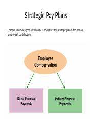 4. Strategic Pay Plans