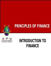Lecture 1_ Introduction to Finance.ppt