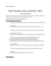 Earth Science Sem 1 Unit 2 Study Guide.docx