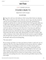 Found Objects _ The New Yorker.pdf
