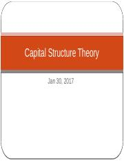 Ch 13 Capital Structure Theory (1)