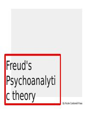 Freud's psychoanalytic theory.pptx
