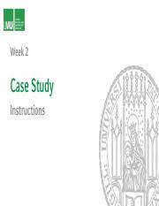 Case Instructions DeBeers and Beyond