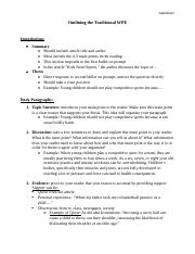 WPE Sample Paragraph components.docx