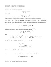 DeCarlo Ch10a Solutions