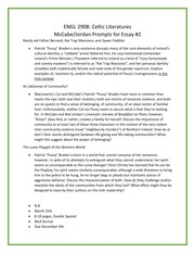 dubliners essay prompts