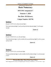 BNU1501 Assignment 1 Solutions.pdf